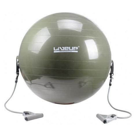 Gymnastický míč posilovací 65cm - tmavě zelená