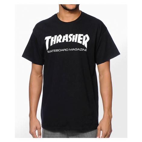 Pánske čierne tričko Thrasher Skate Mag Farba: Čierna