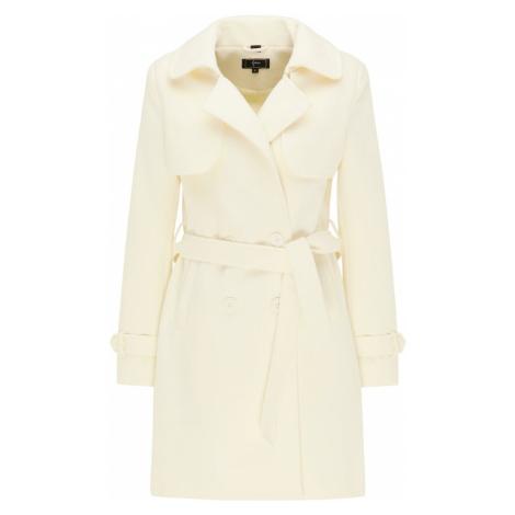 faina Prechodný kabát  biela