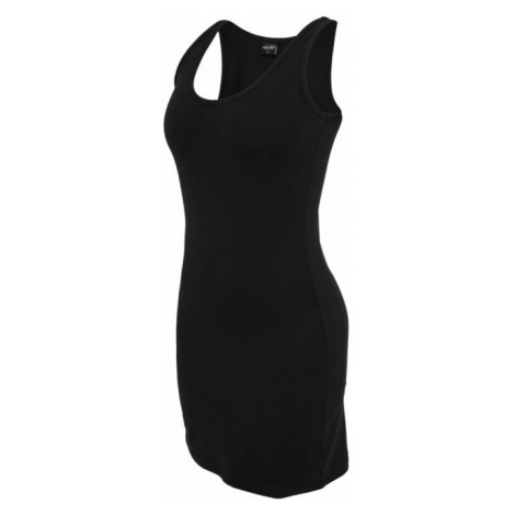 Urban Classics Ladies Sleeveless Dress black - Veľkosť:XS