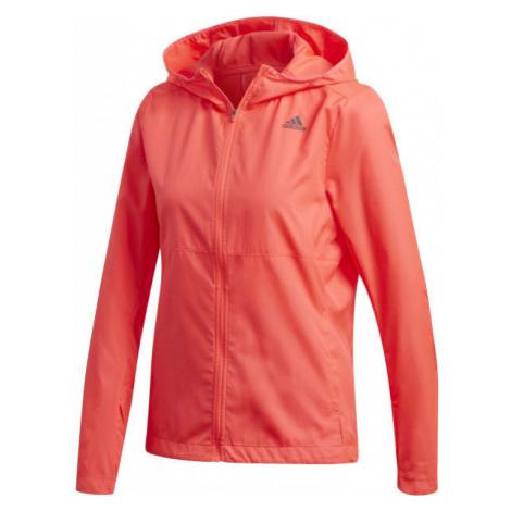 adidas OWN THE RUN JACKET ružová - Dámska bunda