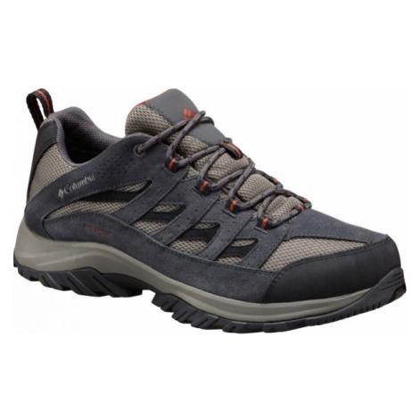 Columbia CRESTWOOD LOW šedá - Pánska obuv