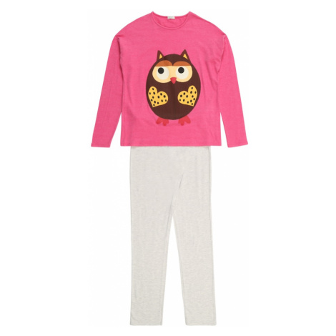 UNITED COLORS OF BENETTON Pyžamo  ružová / béžová melírovaná