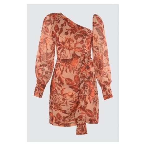 Šaty s dlhým rukávom Trendyol