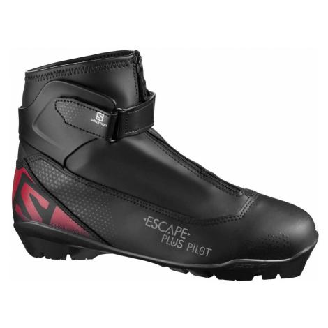 Topánky na bežky SALOMON Escape Plus Pilot SNS Čierna