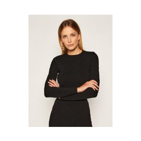 Elisabetta Franchi Komplet sweter i spódnica ołówkowa KC-14Q-06E2-V699 Čierna Slim Fit