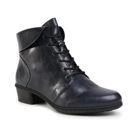 Šnurovacia obuv Rieker Y0711-14 Imitácia kože/-Imitácia kože