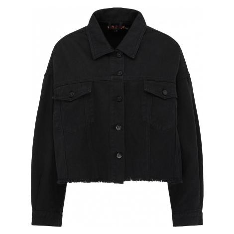 myMo ROCKS Prechodná bunda  čierna