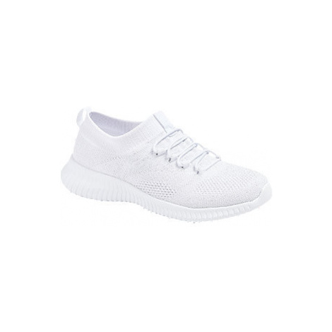 Biele slip-on tenisky Graceland