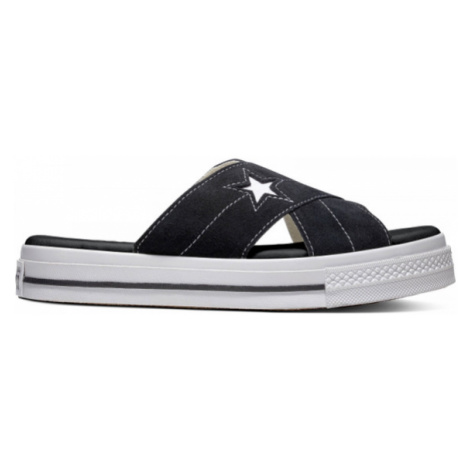 Converse ONE STAR SANDAL čierna - Dámske šľapky