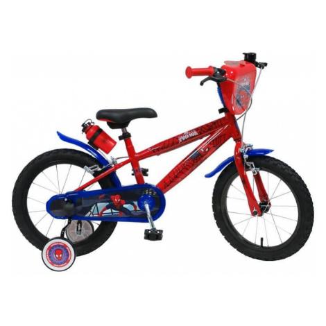 "Detský bicykel Spiderman 2416 16"" - model 2018 Spider-Man"