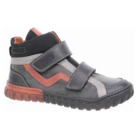 Chlapecká kotníková obuv Primigi 6121000 nero-nero 6121000