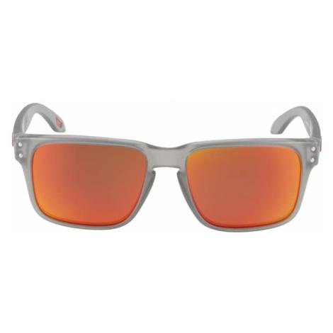OAKLEY Športové slnečné okuliare 'HOLBROOK'  oranžová / sivá