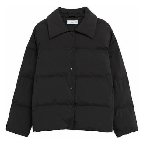 MANGO Prechodná bunda 'Sakura'  čierna