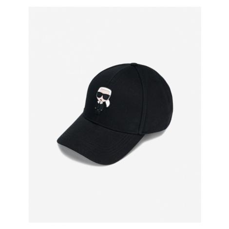 Karl Lagerfeld K/Ikonik Šiltovka Čierna