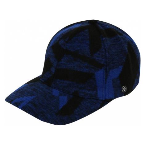 BRUNO BANANI Čiapka  čierna / modrá melírovaná / námornícka modrá