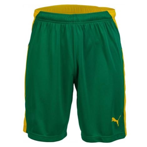 Puma KC LIGA SHORTS žltá - Pánske futbalové šortky