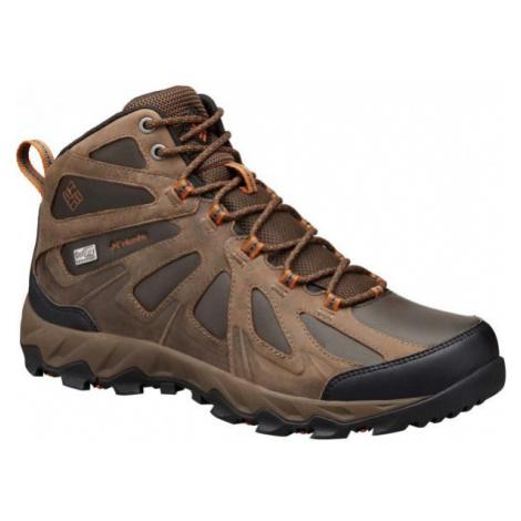 Columbia PEAKFREAK XCRSN II MID LEATHER hnedá - Pánska outdoorová obuv