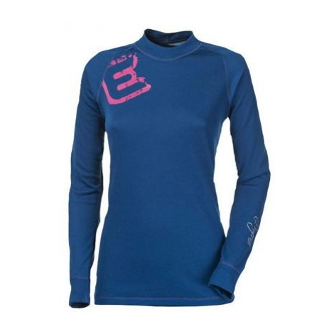 Progress DF NDRZ PRINT modrá - Dámske funkčné tričko