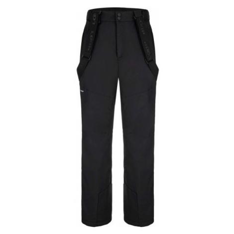 Loap FLOCKY čierna - Pánske lyžiarske nohavice