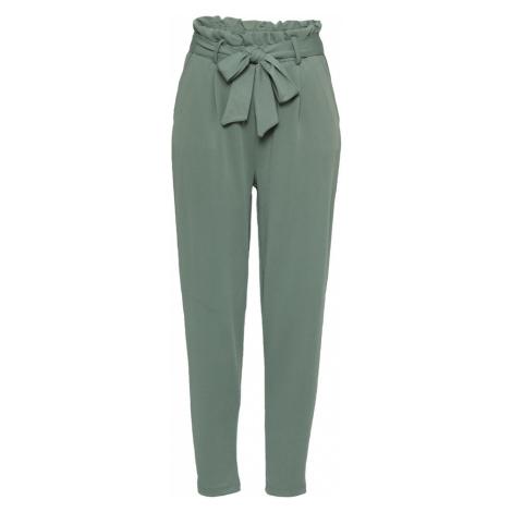Eight2Nine Plisované nohavice  zelená