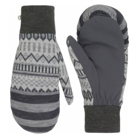 KARI TRAA AKLE MITTEN modrá - Dámske vlnené rukavice