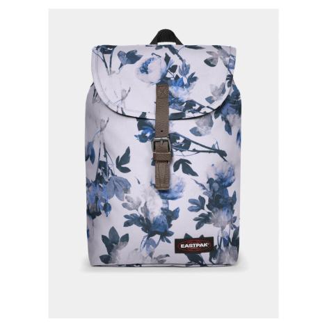 Modro-biely kvetovaný batoh Eastpak 10,5 l