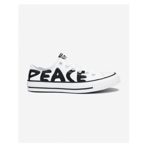 Converse Chuck Taylor All Star Peace Powered Tenisky Biela