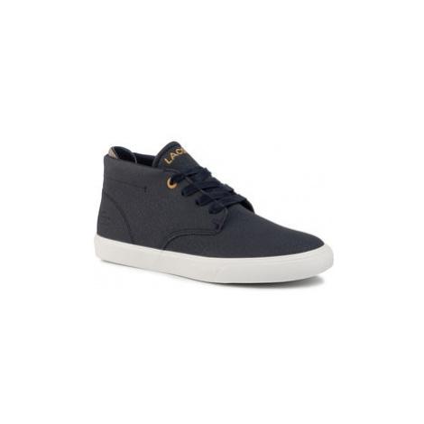 Lacoste Sneakersy Esparre Chukka 319 1 Cuj 7-38CUJ0005J18 Tmavomodrá