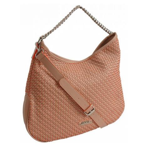 Dámska kabelka Doca 12159 - oranžová
