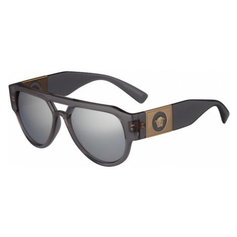 VERSACE Slnečné okuliare '0VE4401'  sivá / čierna