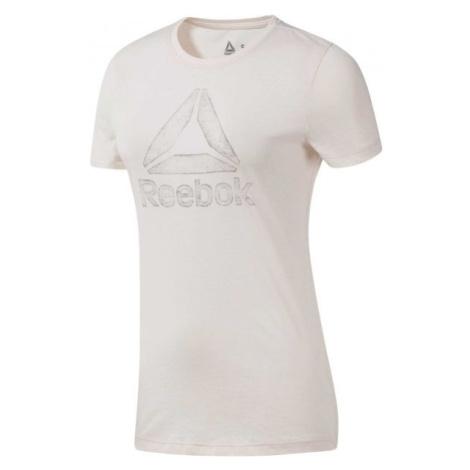 Reebok OPP DELTA TEE biela - Dámske tričko