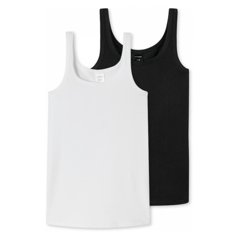 SCHIESSER Tielko  biela / čierna