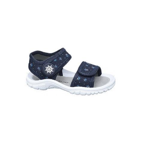 Tmavomodré námornícke sandálky Bobbi Shoes Bobbi-Shoes