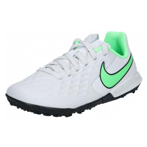 NIKE Športová obuv  biela / svetlozelená