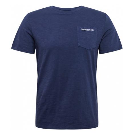 GUESS Tričko  modrá