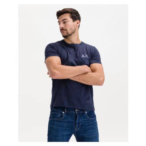 Armani Exchange Tričko Modrá