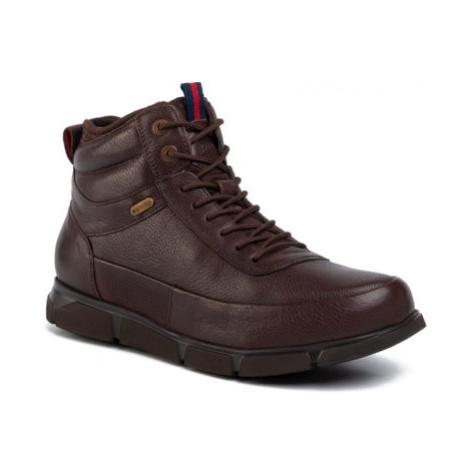 Šnurovacia obuv GO SOFT MI08-C616-606-01 koža(useň) lícová