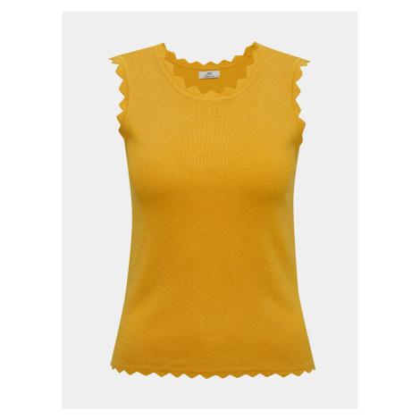 Žltý top Jacqueline de Yong Delilah