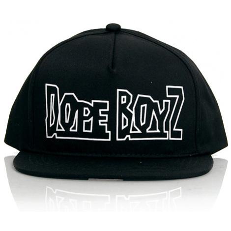 Dope Boyz Snapback Black - Veľkosť:UNI