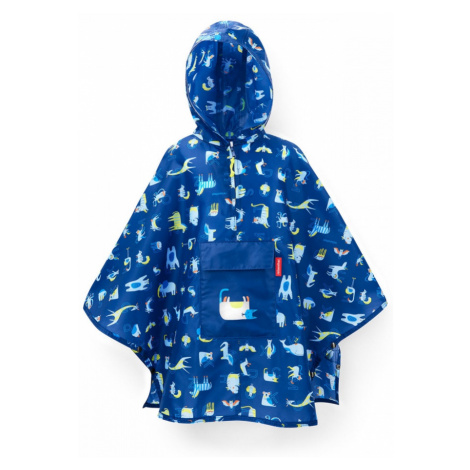 Pončo Mini Maxi M Kids Abc Friends Blue Reisenthel