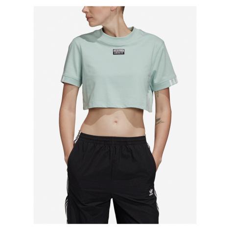 Tričko adidas Originals Tee Cropped Zelená