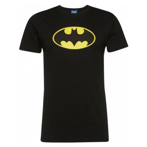 Merchcode Tričko 'Batman'  čierna / žltá