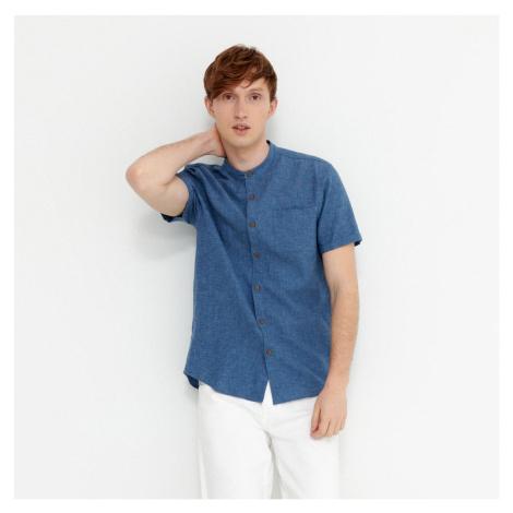 House - Košeľa s krátkym rukávom - Modrá