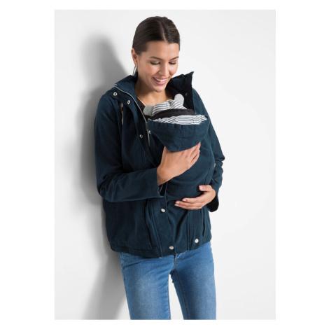 Materská bunda, prechodná, s časťou pre bábätko