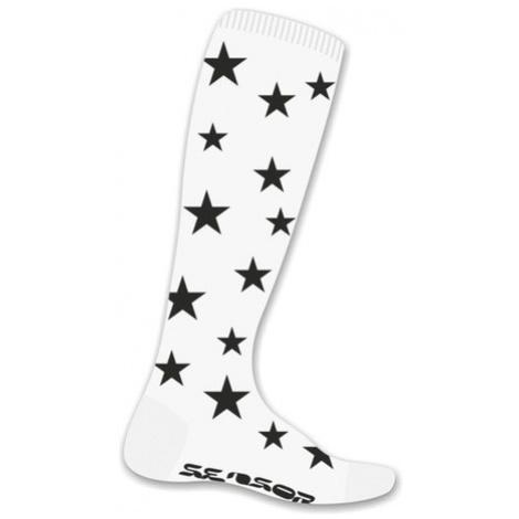 Ponožky Sensor Thermosnow Stars biele 16200159