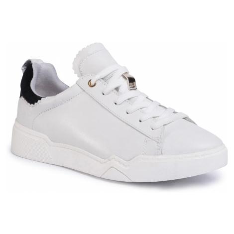 Sneakersy TAMARIS - 1-23793-34 Wht/Blk/Gold 265