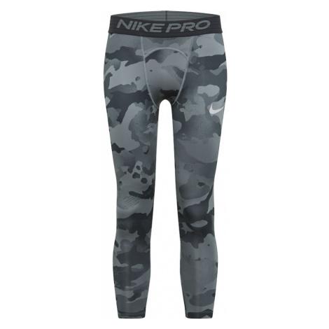 NIKE Športové nohavice  sivá / svetlosivá / antracitová