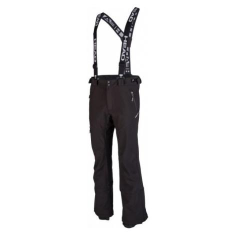 Head REMOLINO čierna - Pánske softshellové lyžiarske nohavice