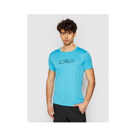 CMP Funkčné tričko 39T7117P Modrá Regular Fit